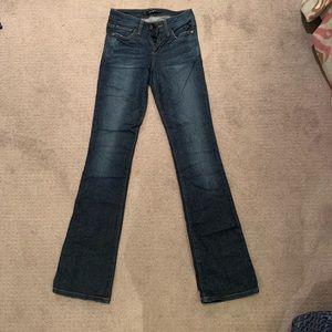 Joe's Jeans Curvy Bootcut Size 25